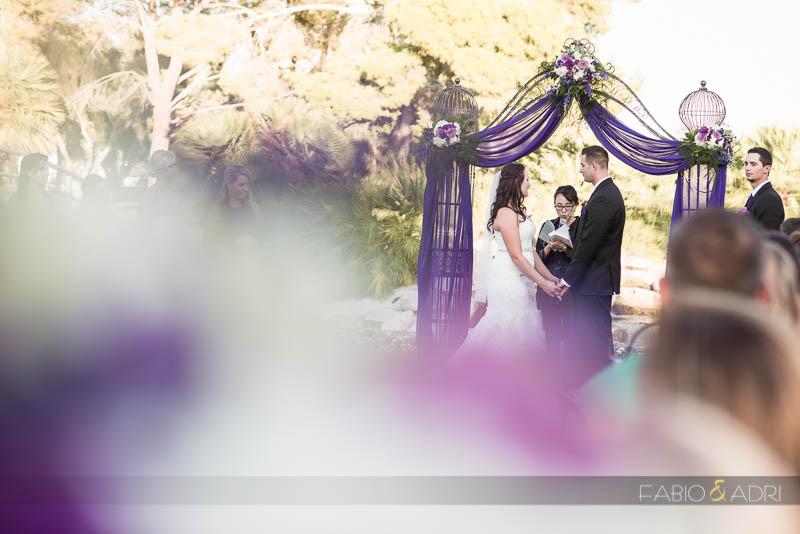 Las Vegas Country Club Wedding Photographer Ceremony