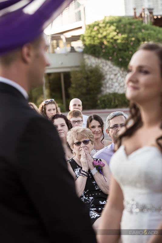 Las Vegas Country Club Wedding Photographer Mom Expression