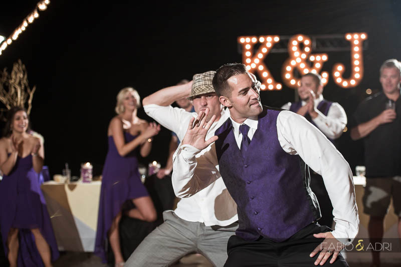Las Vegas Country Club Wedding Photographer Reception Fun