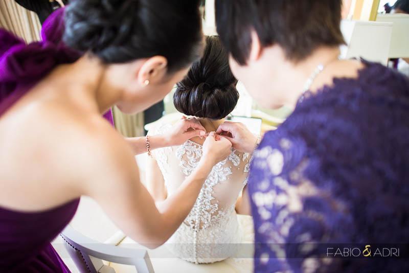 Bride Getting Ready Wynn Las Vegas