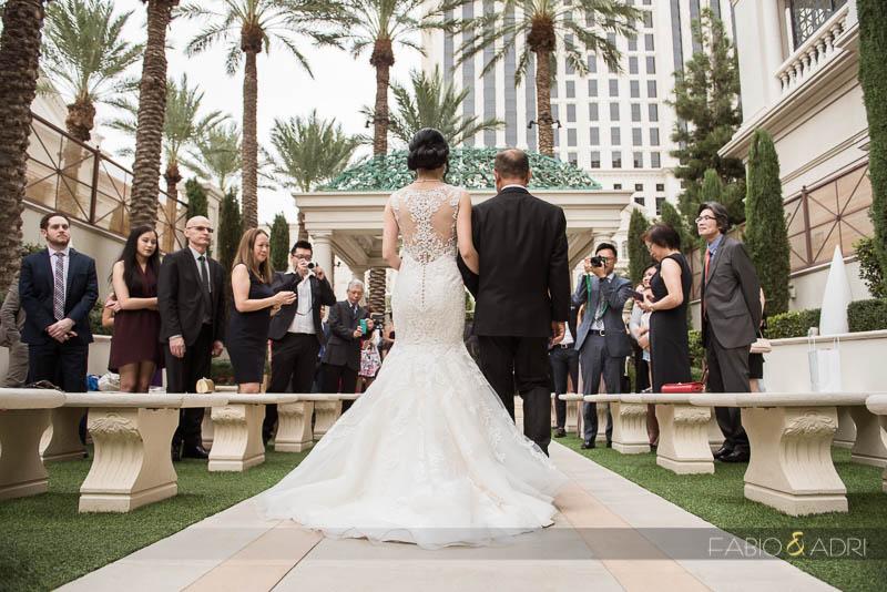 Juno Garden Wedding Ceremony Las Vegas