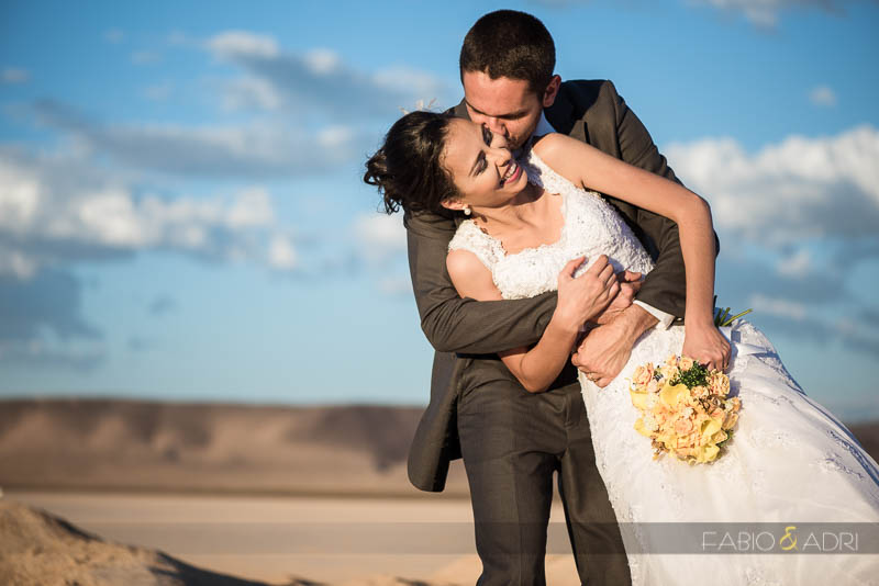 Desert Wedding Romantic Photos