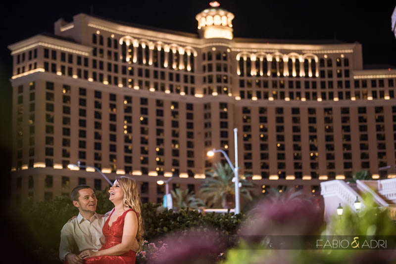 Las Vegas Strip Engagement Photographer
