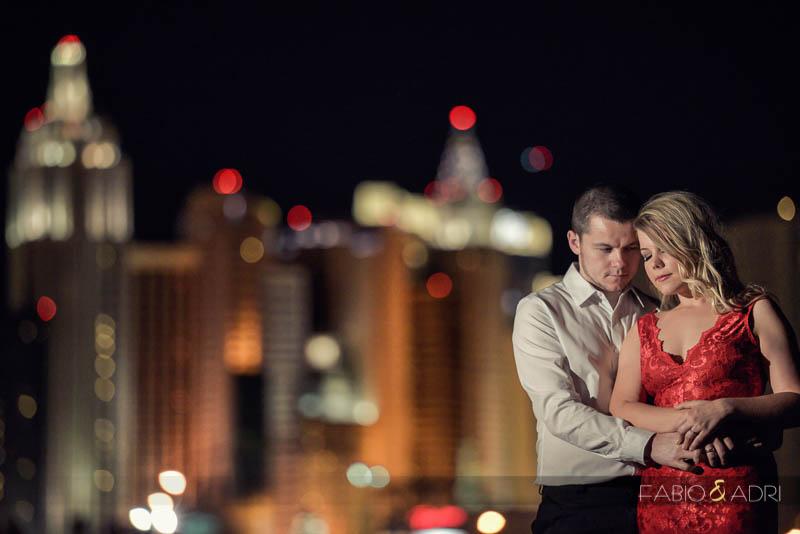 Las Vegas Strip Engagement Session