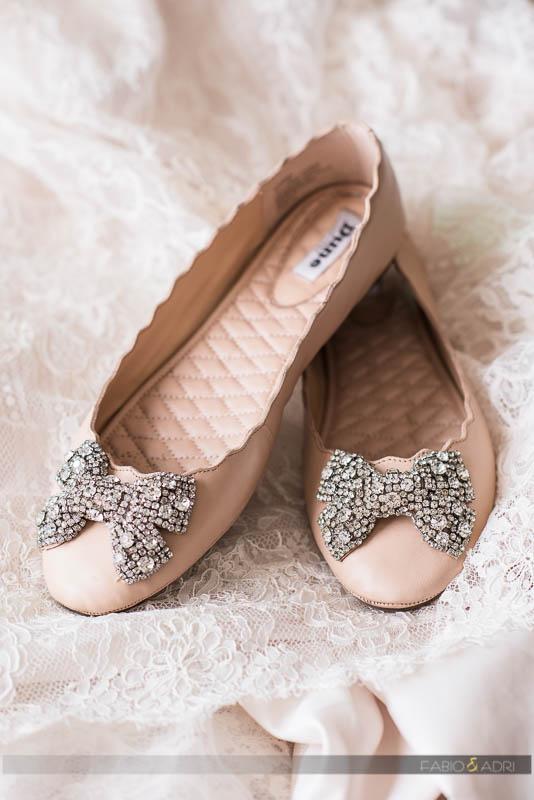 Flat Wedding Shoes  Photo Las Vegas Photographers