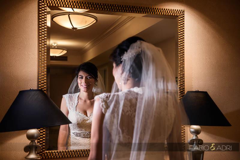 Bride Contemporary Portrait Las Vegas Wedding Photographers