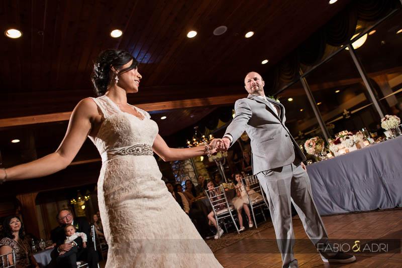 Bride and Groom first Dance Las Vegas