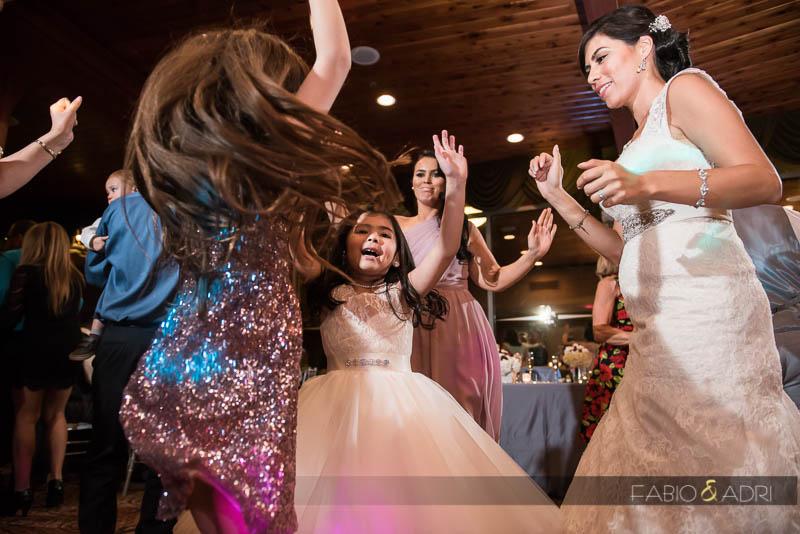 Kids Dancing Wedding Reception Las Vegas