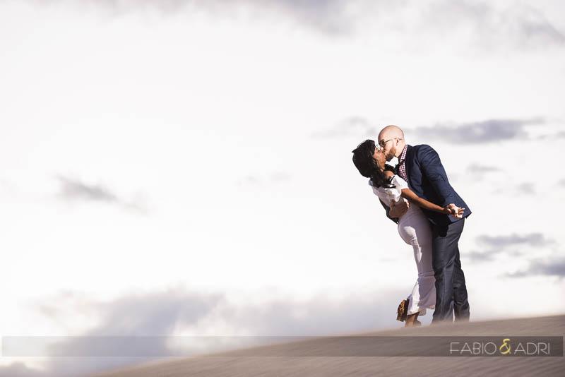 Mesquite Flat Sand Dunes Engagement Session Photographer