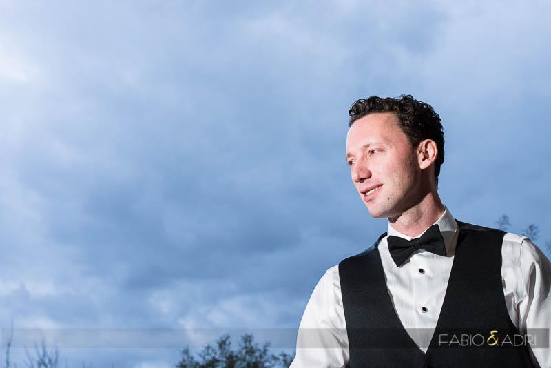 Groom Portrait Las Vegas Wedding