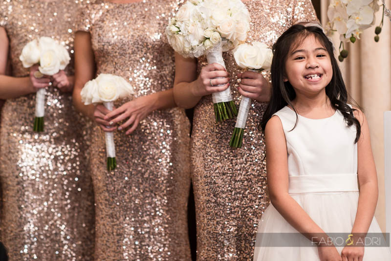 Flower Girl Smile Mandalay Bay Wedding