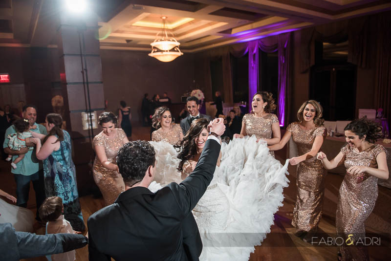 Dragon Ridge Las Vegas Wedding Reception Fun Dancing
