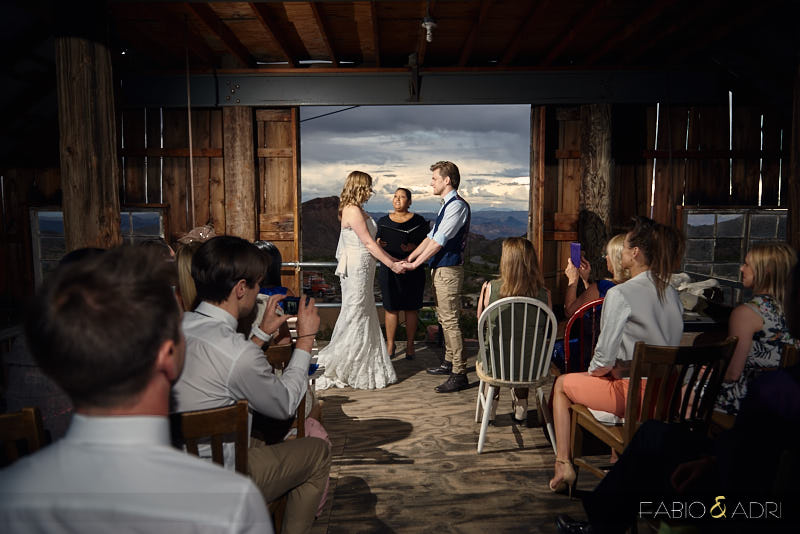 Nelson Barn Wedding Ceremony