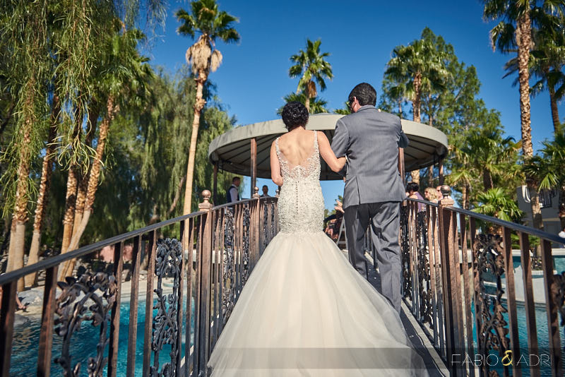 Ceremony at The 2810 Private Resort Las Vegas