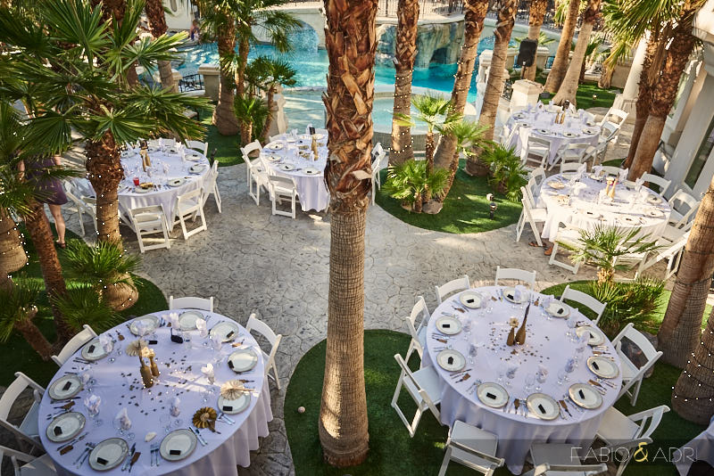 Reception at The 2810 Private Resort Las Vegas