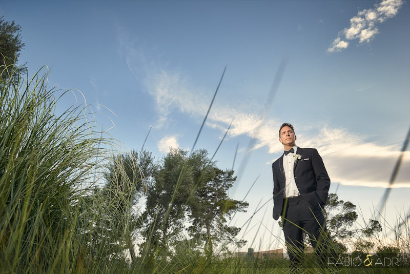Groom at Las Vegas Country Club