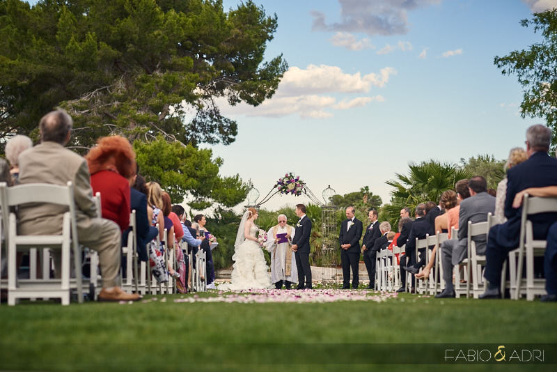Las Vegas Country Club Ceremony