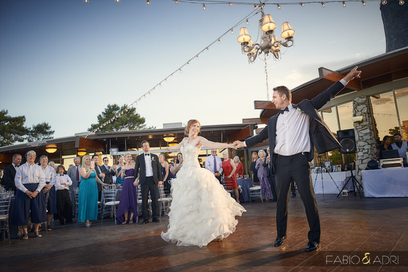 Las Vegas country Club Outdoor Reception