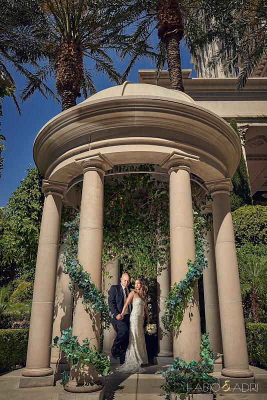 Caesars Palace Wedding Venus Garden