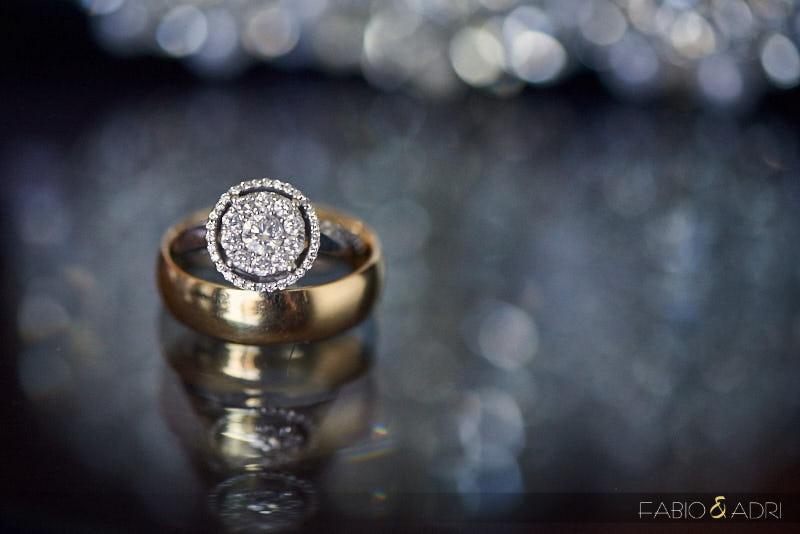Wedding Ring Macro Photo