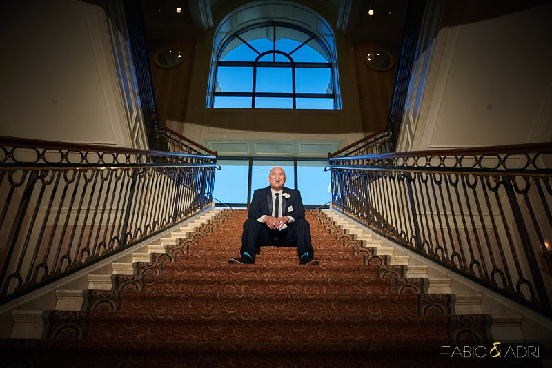 Groom Portraits Caesars palace Las Vegas