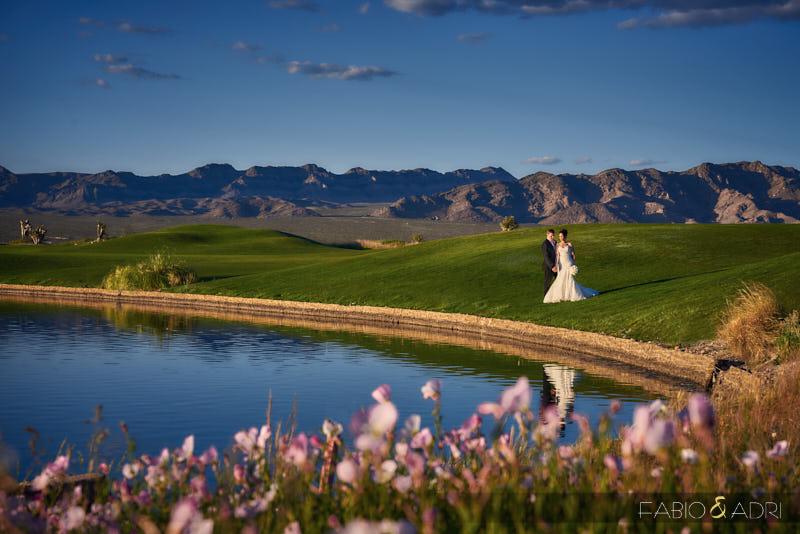 Las Vegas Paiute Wedding Desert Landscape