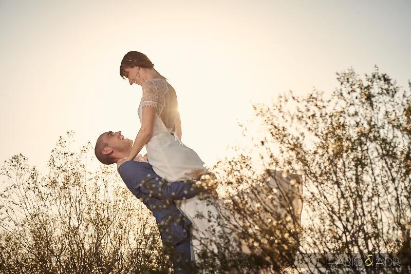 Bride and Groom Las Vegas Desert