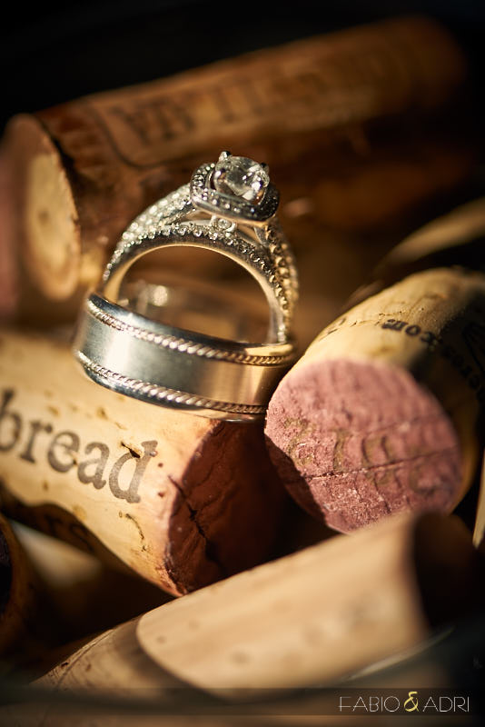 Ring Shot with Wine Cork