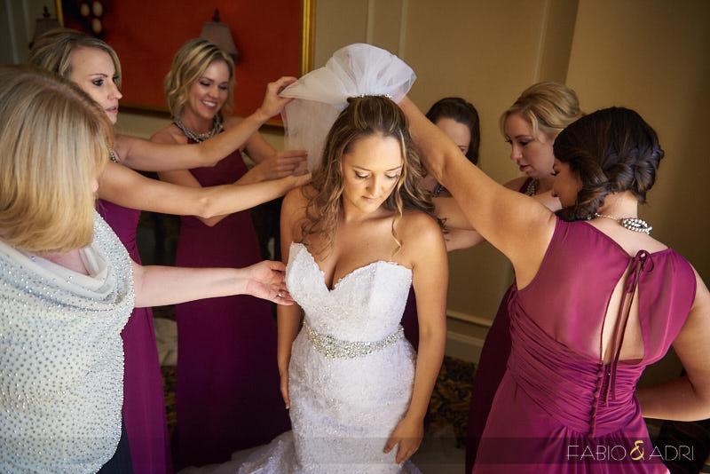 Bride Getting Ready GVR Las Vegas