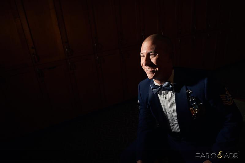 Air Force Wedding Attire