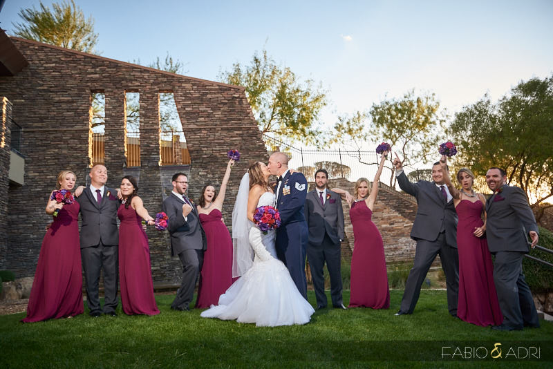 Bridal Party Photo Dragon Ridge