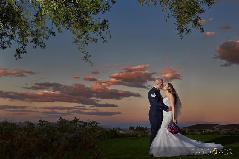 Dragon Ridge Las Vegas Wedding Photographer