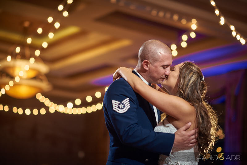 Wedding First Dance at Dragon Ridge