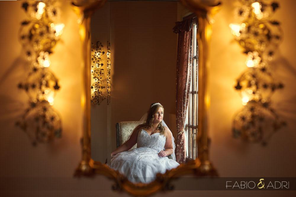 Bride Photo Hilton lake Las Vegas