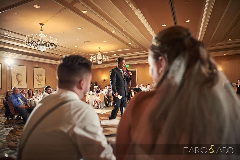 Hilton Lake Las Vegas Wedding Reception Ballroom