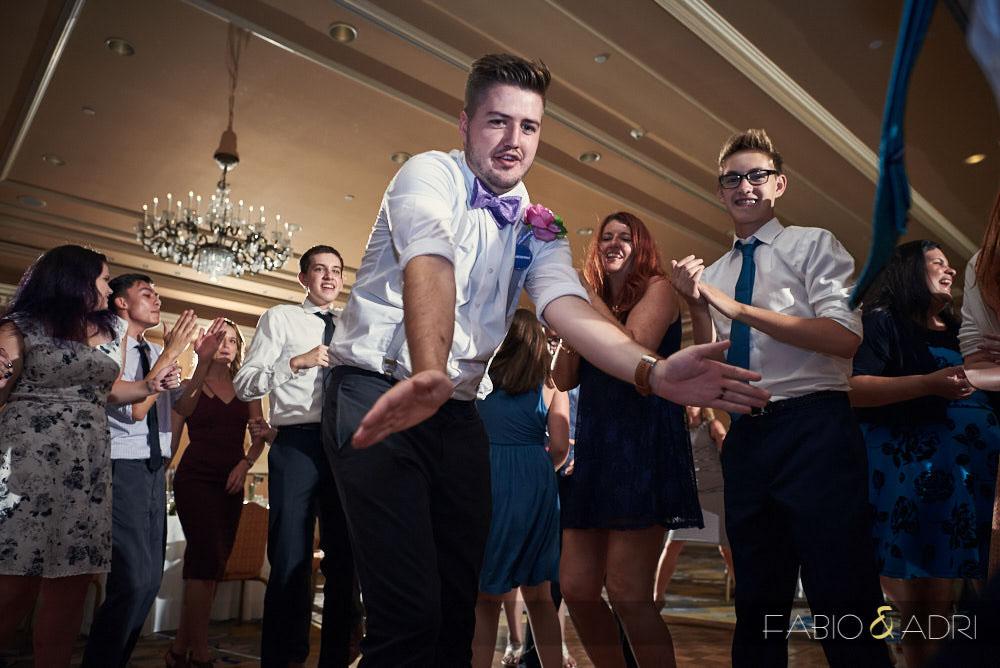 Hilton Lake Las Vegas Wedding Reception Dance