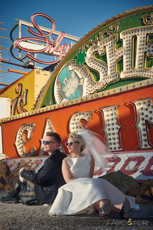 Neon Museum Wedding North Gallery