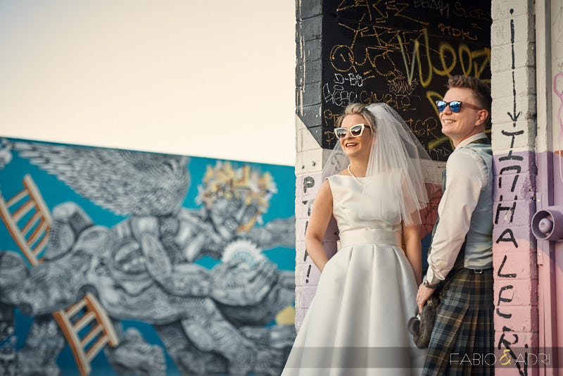Scottish Las Vegas Wedding Downtown Photos