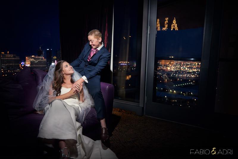 Palms Sky Villa Wedding Same Sex