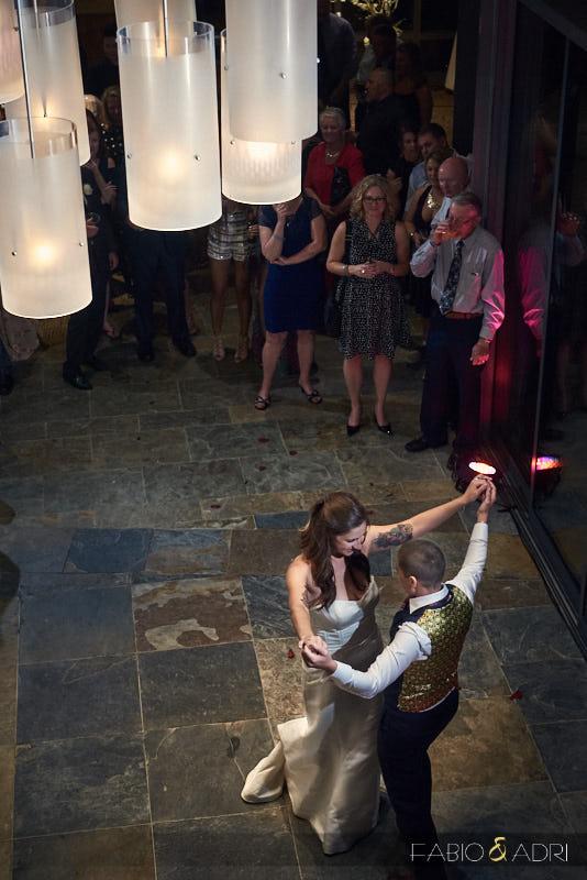 Palms Sky Villas Wedding Reception