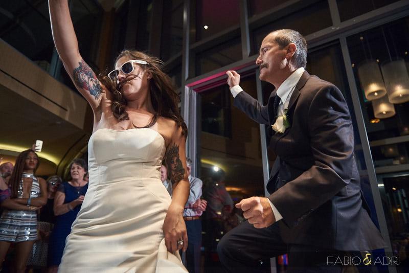 Palms Sky Villas Fun Wedding Reception