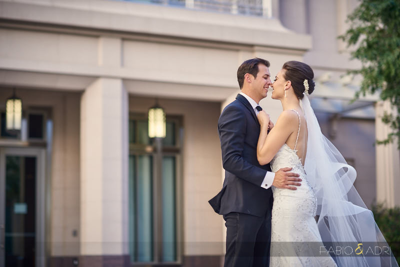 Romantic Wedding Photos at Smith Center