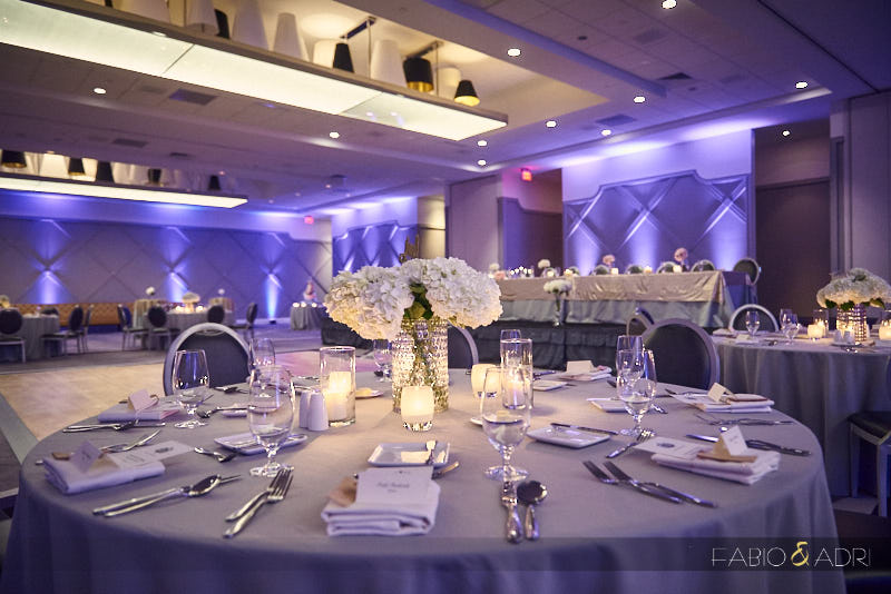 SLS Las Vegas Wedding Reception