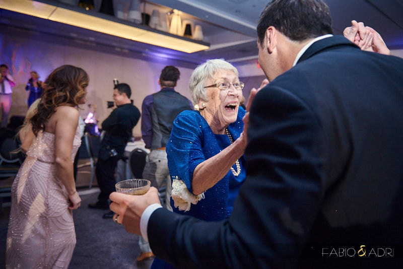 Grandmother Dancing Wedding