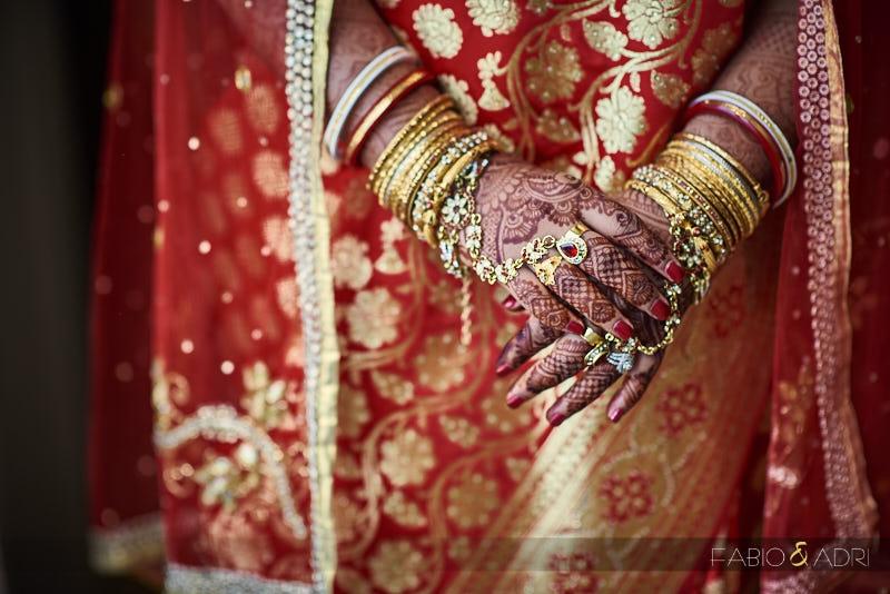 South Asian Bride mehndi