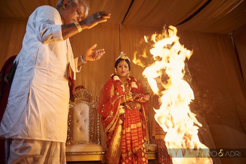 Fire Hindu Ceremony at JW Marriott Las Vegas Agni