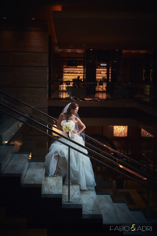 The M Resort Bride Photo