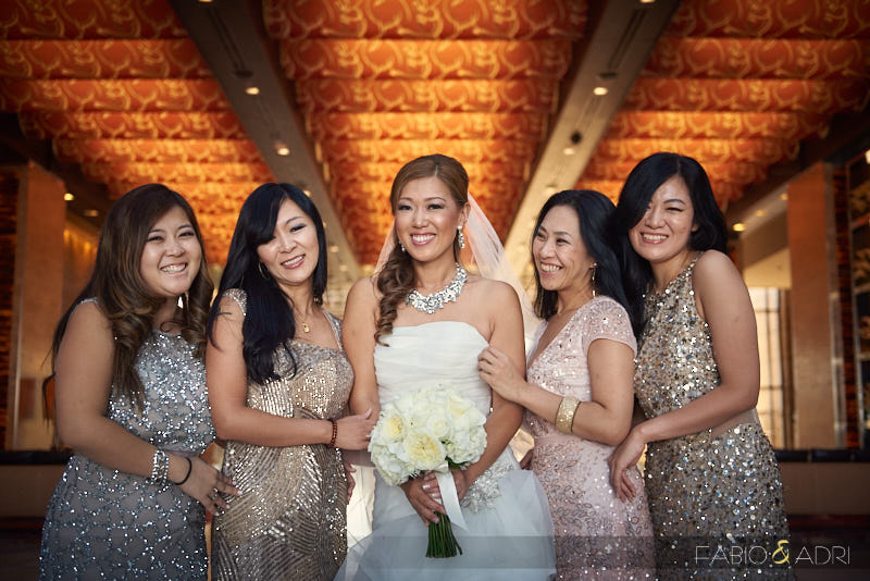 Bride and Bridesmaids Photo M Resort