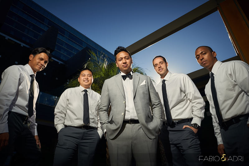 Groom and Groomsmen Photo M Resort