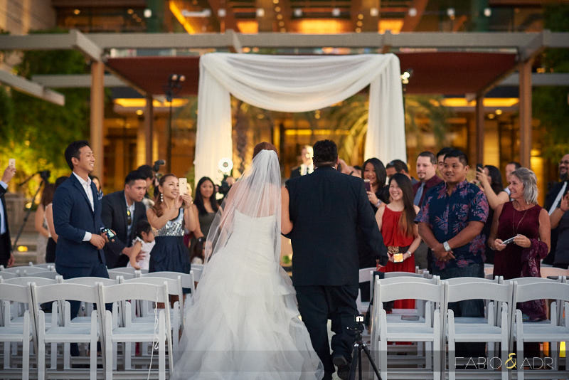 The M Resort Wedding Ceremony